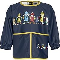 The Plan Bible Playshoes Boy's long sleeve painting apron, blue - Camiseta de manga larga para bebés niño