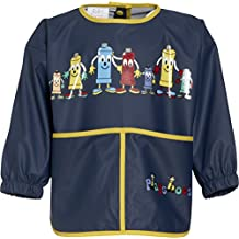 The Plan Bible Playshoes Boys long sleeve painting apron, blue - Camiseta de manga larga