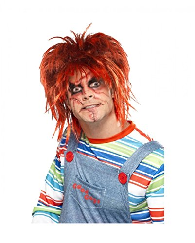 Chucky Make up Set Halloween Schminke für Horror Fans