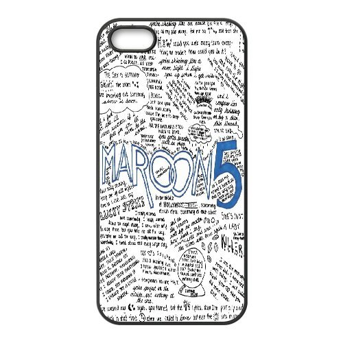 LP-LG Phone Case Of Maroon 5 For iPhone 5,5S [Pattern-6] Pattern-3
