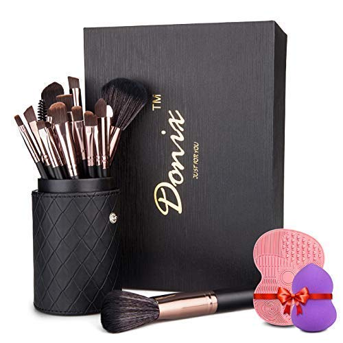 Kosmetikpinsel Donix Make Up Pinsel Set 22 Stücke Schminkpinsel Lidschattenpinsel Erröten Pinsel...