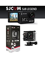 SJCAM SJ6 Legend Dual Screen 2-inch LCD Touchscreen 2880x2160 Novatek NT96660 Sports Action Camera with Accessories(Black)