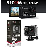 SJCAM SJ6 Legend Dual Screen 2 inch LCD Touchscreen 2880x2160 Novatek NT96660 Sports Action Camera with Accessories Black  Action Cameras