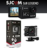 #8: SJCAM SJ6 Legend Dual Screen 2-inch LCD Touchscreen 2880x2160 Novatek NT96660 Sports Action Camera with Accessories(Black)