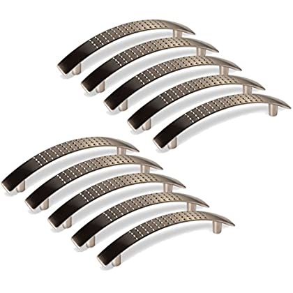 128MM, style 1 MARGUERAS 10PCS poign/ées de placard Tiroir Chambre Meubles Tirer Entraxe de trous 128mm