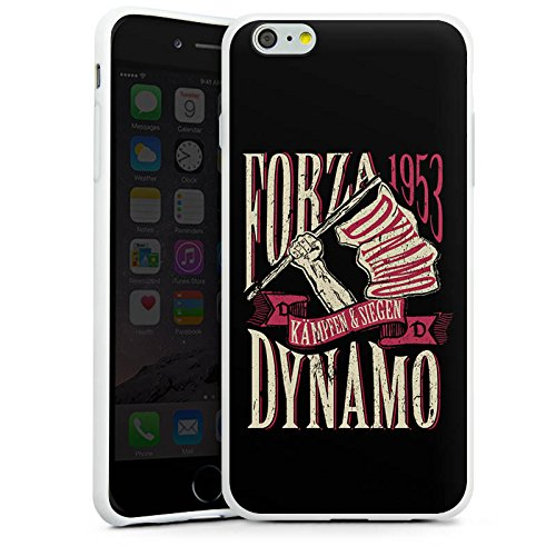 Apple iPhone X Silikon Hülle Case Schutzhülle dynamo dresden Spruch Fanartikel Silikon Case weiß