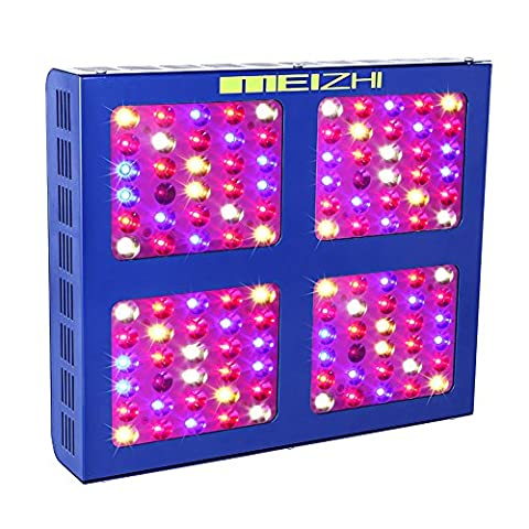 MEIZHI Reflector Series 600W LED Grow Light Switchable Daisy Chain Full Spectrum for Hydroponic Indoor Plants Veg and Bloom