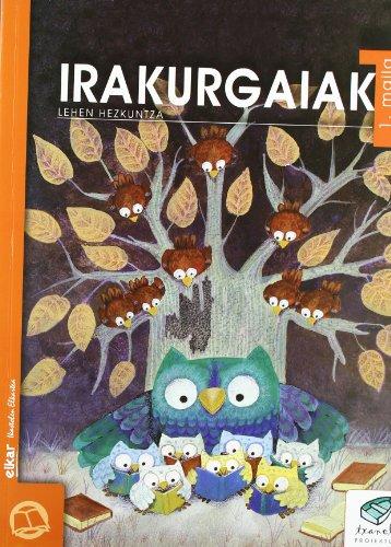 Txanela 1 - Irakurgaiak 1 - 9788483318201
