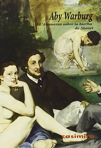 Portada del libro El 'Almuerzo sobre la hierba' de Manet (Arte)