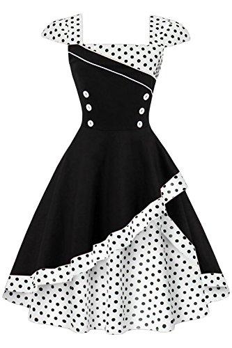 60er jahre kleid mit petticoat