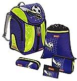 Step by Step Flexline DIN Schulranzen-Set 5-tlg Top Soccer top soccer