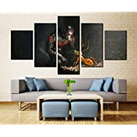 SHINERING People and ants Canvas Wall Art Modular Pictures Home Decor 5 Pieces Paintings Living Room HD Printed Posters