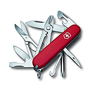 51vX5TPb0sL. SS300  - Victorinox 1.4723 Deluxe Tinker Knife Blade, Red, Medium/91 mm