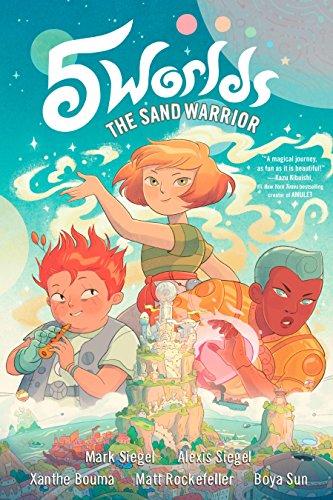 5 Worlds Book 1: The Sand Warrior por Mark Siegel