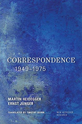 Correspondence 1949-1975 (New Heidegger Research) (English Edition) por Martin Heidegger