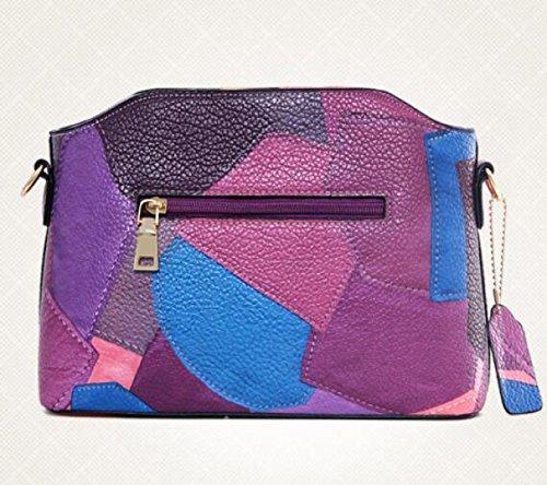 Europa Und Die Vereinigten Staaten Neue Handtasche Tasche Schräge Schultertasche Blue