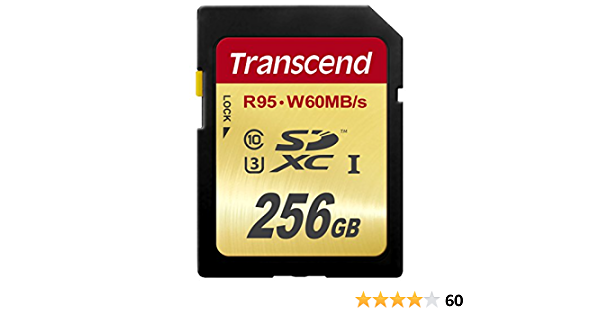 Transcend Ts256gsdu3 Sdxc 256gb Class 3 Speicherkarte Computer Zubehör