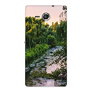 Neo World Nature River ood Back Case Cover for Sony Xperia SP