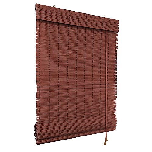 Victoria m tenda a pacchetto in bambù per interni 150 x 220 cm, ciliegia - cortina di bambù