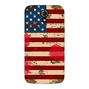 Delighted Grunge USA Flag Multicolor Back Case Cover for Galaxy Mega 6.3