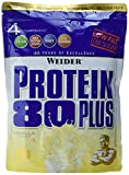 Weider, 80 Plus Protein, Vanille, 1er Pack (1x 500g) medium image