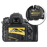 atFoliX Schutzfolie für Nikon D750 Displayschutzfolie - 3er Set FX-Antireflex blendfreie Folie