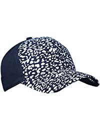 Zacharias Unisex Half Tiger Print Baseball Cotton Cap