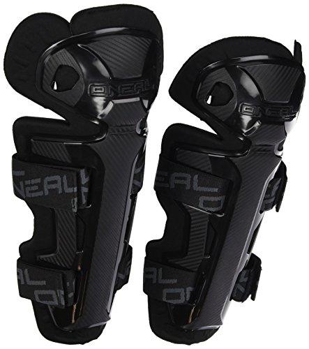O'Neal 0251E-107 Pro II RL Knie Protektor Carbon Optik Schienbein MX MTB DH BMX Schutz, schwarz -
