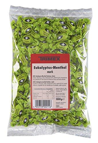 Trimex - Eukalyptus-Menthol-Bonbons braun - 1000g