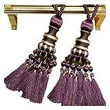 1 Paar Eleganter gardinenaufhänger/gardinenclips/vorhanghaken, NO.8(80cm)