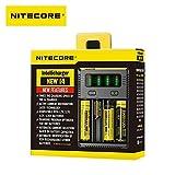 Best Chargeur de batterie Pour AAAS - Chargeur Nitecore NEW i4 Chargeur de batteries intelligent Review