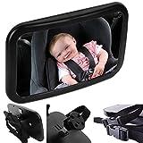 Tonbux Rücksitzspiegel Baby Rückspiegel einstellbare Spiegel für die Rücksitzbank