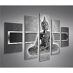 De Imágenes sobre lienzo Zen Buda V2MF XXL Póster Lienzo Cuadro de decoración salón Marca Islandburner