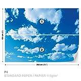 Wolken Himmel FOTOTAPETE FOTOTAPETEN WANDBILD