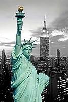 Empire Poster Statue de la liberté avec effets de couleurs