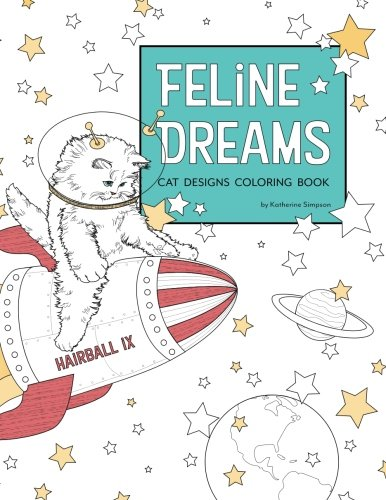 Feline Dreams Cat Designs Coloring Book