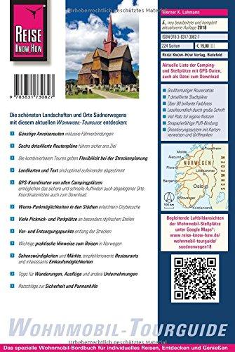 Reise Know-How Wohnmobil-Tourguide Südnorwegen: Die schönsten Routen: Alle Infos bei Amazon