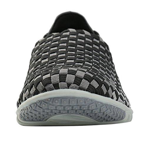 Alexis Leroy Sneaker Walk, Chaussures de sports en salle femme Noir