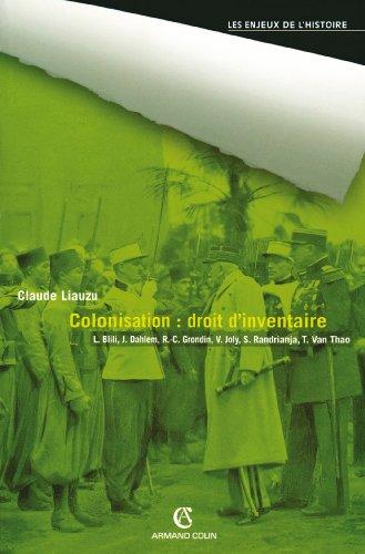 Colonisation : droit d'inventaire (Hors Collection)