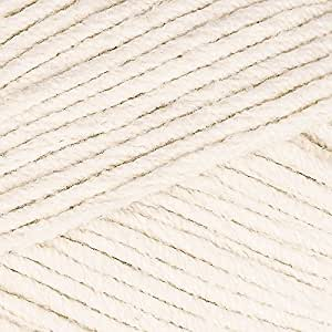 Sirdar Cotton Rich Aran 100g - 001 Fresh Cream