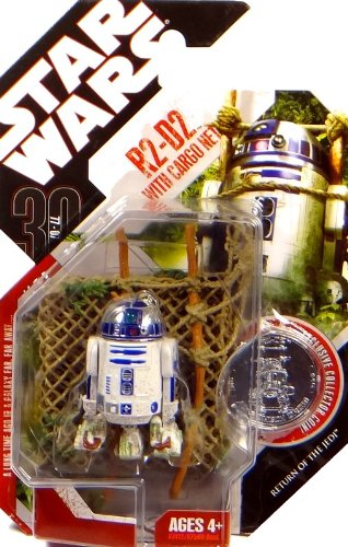 'R2-D2 with Cargo Net' Return Of The Jedi - Star Wars 30th Anniversary Collection by Hasbro