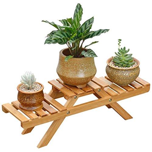 Blumentreppen Blumenständer Massivholz Floorstanding Wohnzimmer Zusammenklappbar Balkon Pflanze Rahmen Einfach Modern Garten