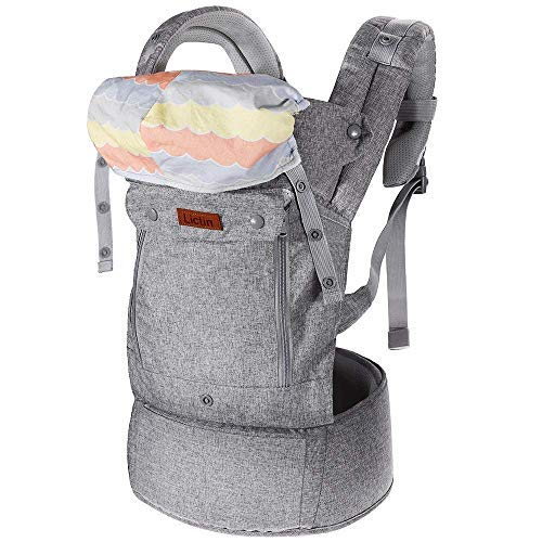 ce782032a2d Lictin Baby Carrier Sling for Newborn - Baby Wrap Carriers Front and Back