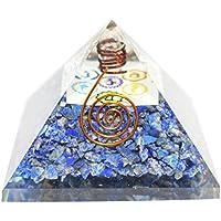 Humunize Lapis Stein mit Bleistift und Logo Orgon Pyramide Chakra-Energie-Generator Reiki Stein Fen Shui Geschenk preisvergleich bei billige-tabletten.eu