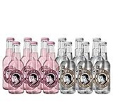 Thomas Henry Mix-Set 6 Flaschen 0,2 Liter Thomas Henry Cherry Blossom Tonic + 6 Flaschen Thomas Henry Elderflower Tonic 0,2 Liter