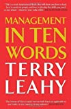Management in 10 Words of Leahy, Terry on 14 March 2013