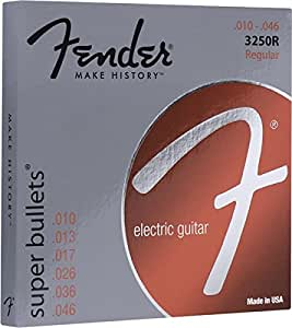 Fender 3250R Super Bullets Electric Guitar Strings 10-46