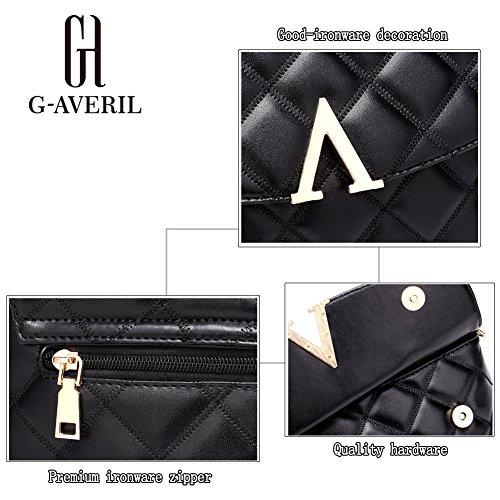 G-AVERIL, Borsa a mano uomo Black1 Black