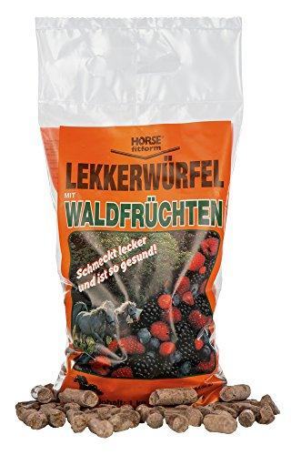Kerbl Lekkerwürfel mit Waldfrüchten, 1er Pack (1 x 1 kg)