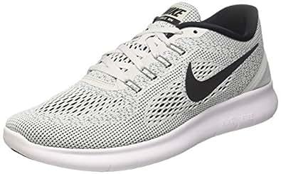 Nike Damen Free RN Sneakers Weiß (White/Black-Pure Platinum 101) 35.5 EU